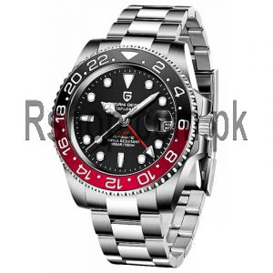 Pagani Design Men's Stainless Steel GMT Automatic Watch Price in Pakistan