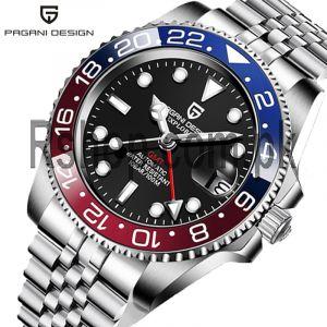 Pagani Design PD-1662 Men's Luminous GMT Mechanical Watch Price in Pakistan