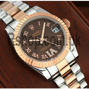 Rolex Datejust Lady Chocolate Dial Watch Price in Pakistan
