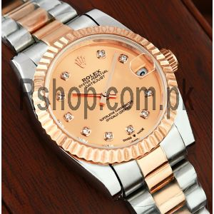 Rolex Datejust Lady Rose Gold Dial Watch Price in Pakistan