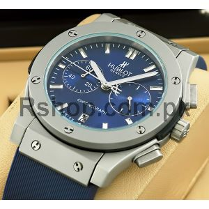 Hublot Classic Fusion Titanium Blue Watch