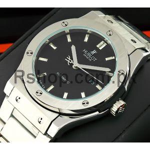 Hublot Classic Fusion Sunray Blue Dial Watch