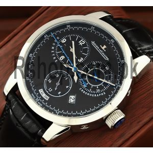Jaeger-LeCoultre Duometre a Chronographe LE Manual White Gold Black Dial Watch Price in Pakistan
