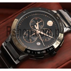 Movado BOLD Chronograph Gunmetal Watch Price in Pakistan